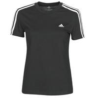 Îmbracaminte Femei Tricouri mânecă scurtă adidas Performance W 3S T Negru