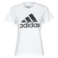 Îmbracaminte Femei Tricouri mânecă scurtă adidas Performance W BL T Alb