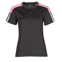 Îmbracaminte Femei Tricouri mânecă scurtă adidas Performance W CB LIN T Negru
