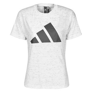 Îmbracaminte Femei Tricouri mânecă scurtă adidas Performance W WIN 2.0 TEE Alb
