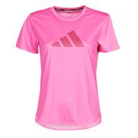 Îmbracaminte Femei Tricouri mânecă scurtă adidas Performance BOS LOGO TEE Roz