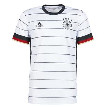 Îmbracaminte Bărbați Tricouri mânecă scurtă adidas Performance DFB H JSY Alb