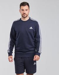 Îmbracaminte Bărbați Hanorace  adidas Performance M 3S FT SWT Albastru