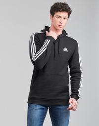 Îmbracaminte Bărbați Hanorace  adidas Performance M 3S FL HD Negru