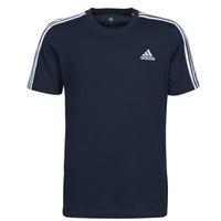 Îmbracaminte Bărbați Tricouri mânecă scurtă adidas Performance M 3S SJ T Albastru