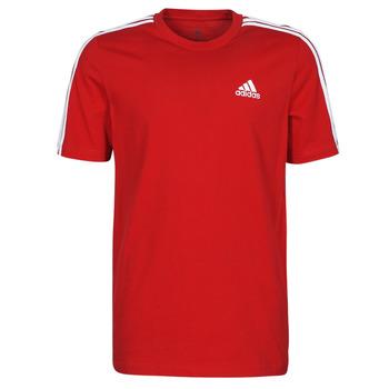 Îmbracaminte Bărbați Tricouri mânecă scurtă adidas Performance M 3S SJ T Roșu