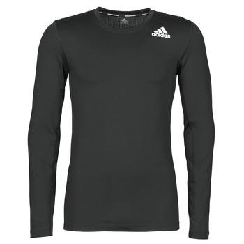 Îmbracaminte Bărbați Tricouri cu mânecă lungă  adidas Performance TF LS Negru
