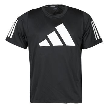 Îmbracaminte Bărbați Tricouri mânecă scurtă adidas Performance FL 3 BAR TEE Negru
