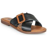 Pantofi Femei Papuci de vară Refresh TRAFFA Negru