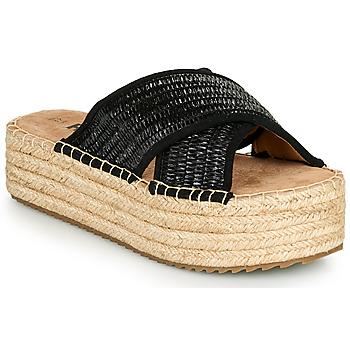 Pantofi Femei Papuci de vară Refresh TERRA Negru