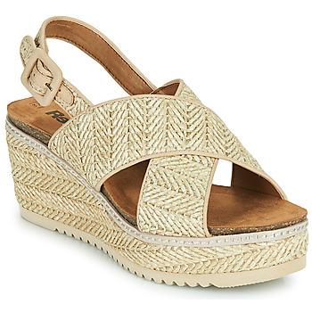 Pantofi Femei Sandale  Refresh AMELA Bej