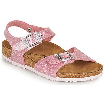 Pantofi Fete Sandale  Birkenstock RIO PLAIN Roz