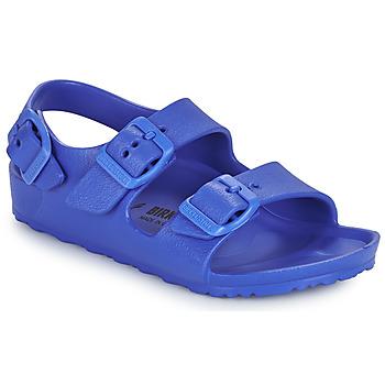 Pantofi Băieți Sandale  Birkenstock MILANO EVA Albastru