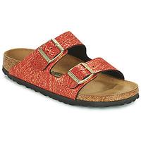 Pantofi Femei Papuci de vară Birkenstock ARIZONA Roșu