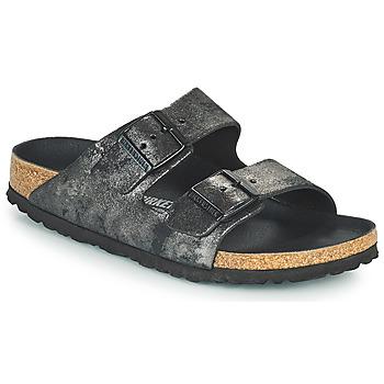 Pantofi Femei Papuci de vară Birkenstock ARIZONA Negru