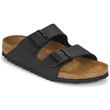 Pantofi Femei Papuci de vară Birkenstock ARIZONA SFB Negru