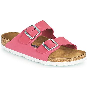 Pantofi Femei Papuci de vară Birkenstock ARIZONA SFB Roz