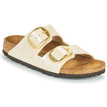 Pantofi Femei Papuci de vară Birkenstock ARIZONA BIG BUCKLE Alb