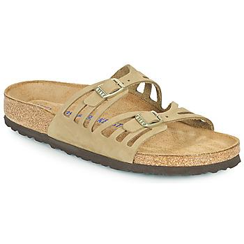 Pantofi Femei Papuci de vară Birkenstock GRANADA SFB Kaki