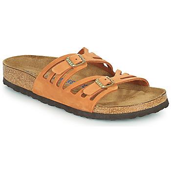 Pantofi Femei Papuci de vară Birkenstock GRANADA SFB Portocaliu