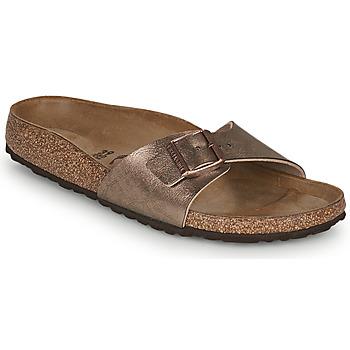 Pantofi Femei Papuci de vară Birkenstock MADRID Auriu
