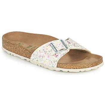 Pantofi Femei Papuci de vară Birkenstock MADRID Alb