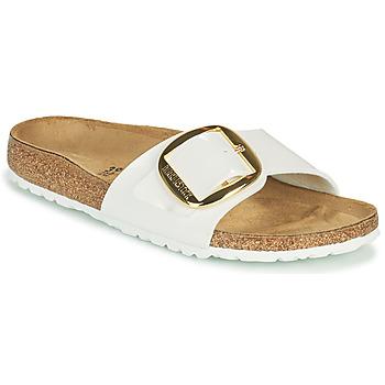 Pantofi Femei Papuci de vară Birkenstock MADRID BIG BUCKLE Alb