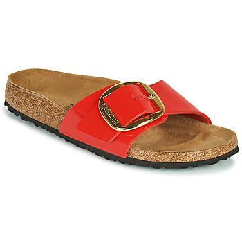 Pantofi Femei Papuci de vară Birkenstock MADRID BIG BUCKLE Roșu