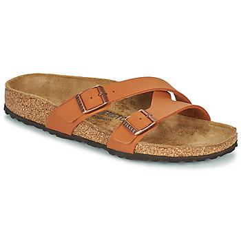 Pantofi Femei Papuci de vară Birkenstock YAO BALANCE Maro
