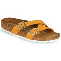 Pantofi Femei Papuci de vară Birkenstock YAO BALANCE SFB Portocaliu