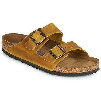 Pantofi Bărbați Papuci de vară Birkenstock ARIZONA SFB Galben