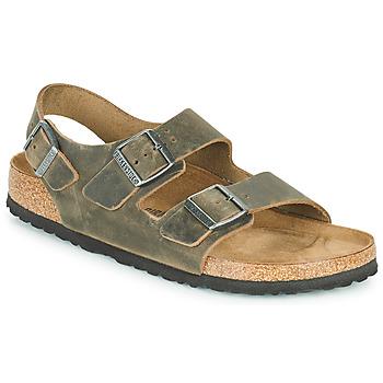Pantofi Bărbați Sandale  Birkenstock MILANO Kaki