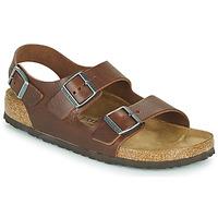 Pantofi Bărbați Sandale  Birkenstock MILANO Maro