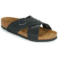 Pantofi Bărbați Papuci de vară Birkenstock LUGANO Negru