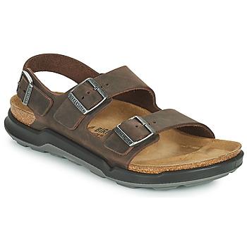 Pantofi Bărbați Sandale  Birkenstock MILANO CT Maro