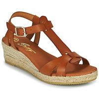 Pantofi Femei Sandale  Betty London OBORSEL Coniac