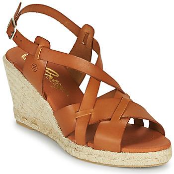 Pantofi Femei Sandale  Betty London OSAVER Camel