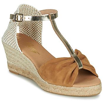 Pantofi Femei Sandale  Betty London OREINOA Camel