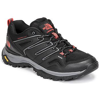 Pantofi Femei Drumetie și trekking The North Face HEDGEHOG FUTURELIGHT Negru / Roșu