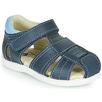 Pantofi Băieți Sandale  Citrouille et Compagnie OLISS Albastru
