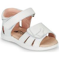 Pantofi Fete Sandale  Citrouille et Compagnie OLESS Alb