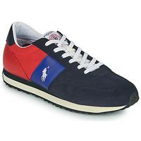 Pantofi Bărbați Pantofi sport Casual Polo Ralph Lauren TRAIN 85-SNEAKERS-ATHLETIC SHOE Albastru / Roșu