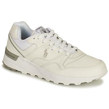 Pantofi Bărbați Pantofi sport Casual Polo Ralph Lauren TRCKSTR PONY-SNEAKERS-ATHLETIC SHOE Alb