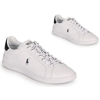 Pantofi Bărbați Pantofi sport Casual Polo Ralph Lauren HRT CT II-SNEAKERS-ATHLETIC SHOE Alb / Negru