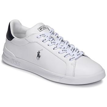 Pantofi Pantofi sport Casual Polo Ralph Lauren HRT CT II-SNEAKERS-ATHLETIC SHOE Alb / Albastru