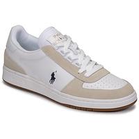 Pantofi Bărbați Pantofi sport Casual Polo Ralph Lauren POLO CRT PP-SNEAKERS-ATHLETIC SHOE Alb