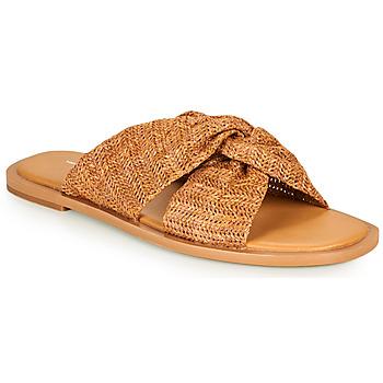 Pantofi Femei Papuci de vară Vanessa Wu SD2223CM Maro