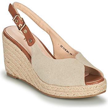 Pantofi Femei Sandale  Vanessa Wu SD2238BG Bej / Maro