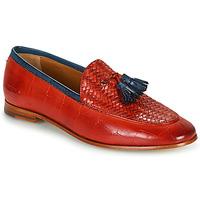 Pantofi Femei Mocasini Melvin & Hamilton SCARLETT 44 Roșu
