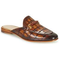 Pantofi Femei Papuci de vară Melvin & Hamilton SCARLETT 4 Maro